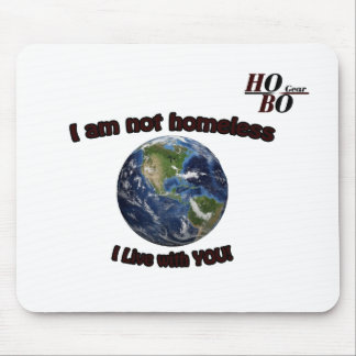 """HoBo Gear """"I Live with you"""" Mouse Pad. Mouse Pad"""