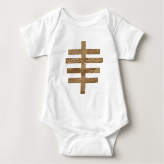 hobo sign here lives to officer OF the law Baby Bodysuit