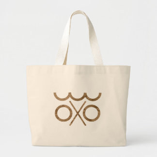 hobo sign safe camping with fresh more water large tote bag
