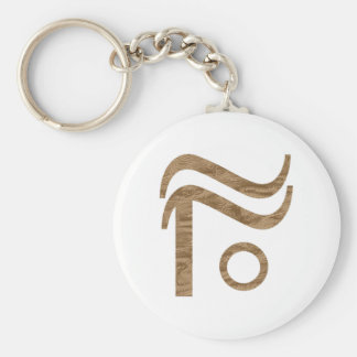 hobo sign sleep in hayloft basic round button keychain