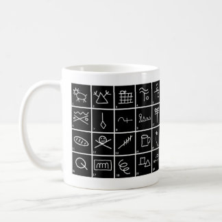 Hobo Signs and Symbols with meanings Coffee Mug