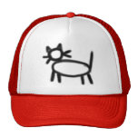Hobo symbol: Child lady Mesh Hats