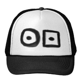 Hobo symbol: Ill Tempered one Trucker Hat