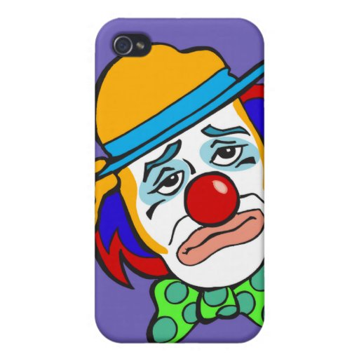Hobo triste iPhone 4 carcasa