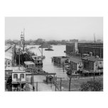 Hoboken Docks Print