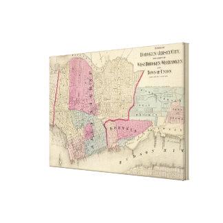 Hoboken, Jersey City Canvas Print
