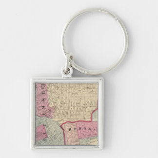 Hoboken, Jersey City Keychain