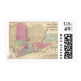 Hoboken, Jersey City Postage Stamp