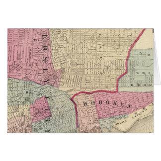 Hoboken, Jersey City Tarjeta De Felicitación