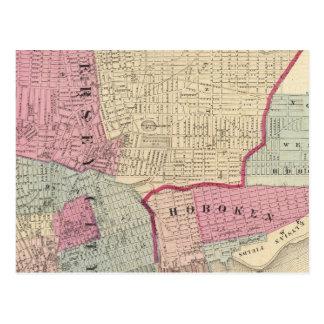 Hoboken, Jersey City Tarjeta Postal