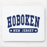 Hoboken New Jersey College Style tee shirts Mousepads