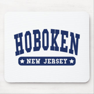 Hoboken New Jersey College Style tee shirts Mouse Pad