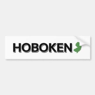 Hoboken, New Jersey Pegatina Para Auto