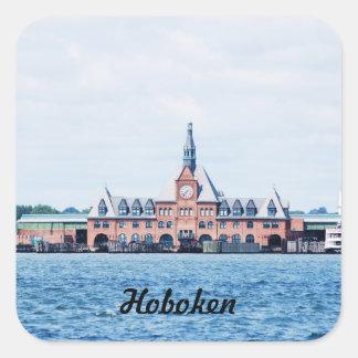 Hoboken Square Sticker
