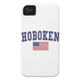 Hoboken US Flag Case-Mate iPhone 4 Case
