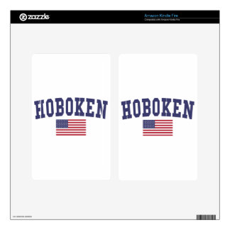 Hoboken US Flag Decal For Kindle Fire