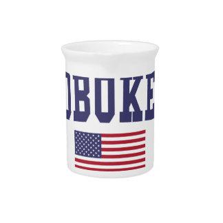 Hoboken US Flag Drink Pitchers