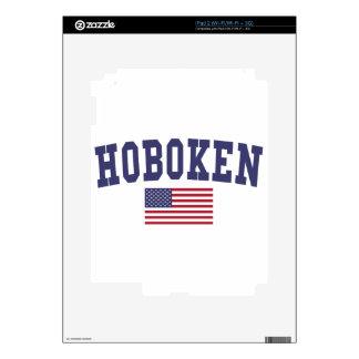 Hoboken US Flag iPad 2 Decal
