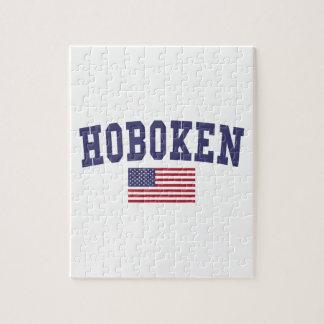 Hoboken US Flag Jigsaw Puzzle