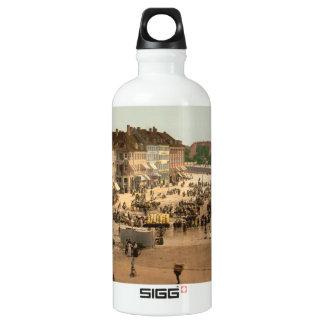 Hochbrucke Square, Copenhagen, Denmark Water Bottle