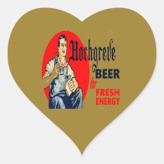 Hochgreve Beer Heart Sticker