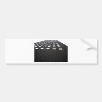 Hochhausfassade Bumper Sticker