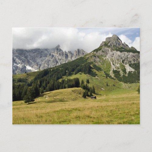 Hochkönig, Austria postcard postcard