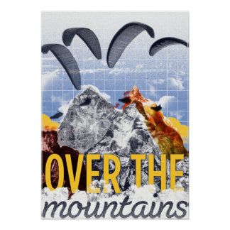Hochland - Over the Mountains Poster