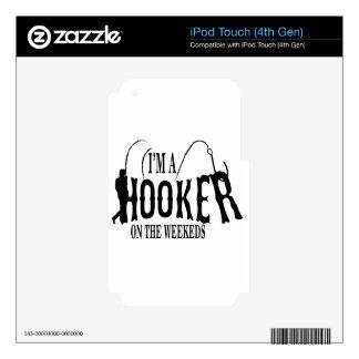 Hocker.. fisherman iPod touch 4G skin