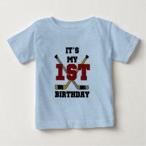 Hockey 1st Birthday Tshirts and Gifts
