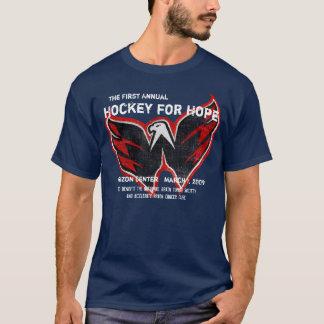 Hockey 2009 para la camiseta de la esperanza