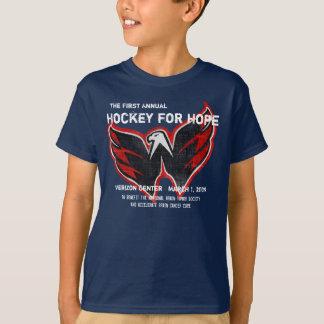 Hockey 2009 para las camisetas de la esperanza