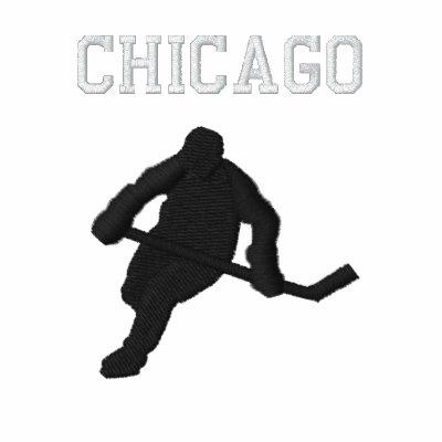 Hockey - 2010 equipo Chicago Sudadera Con Serigrafía