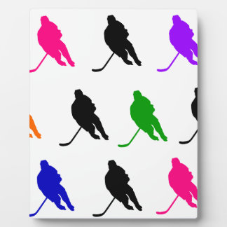 Hockey 2 plaque
