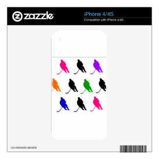 Hockey 2 skins for iPhone 4S