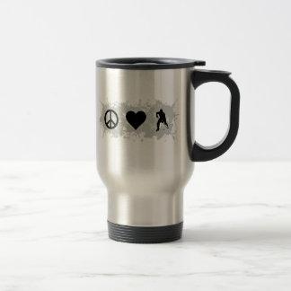 Hockey 5 coffee mug