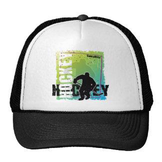 Hockey abstracto (varón) gorras de camionero