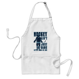 Hockey Ain't Just A Game Apron