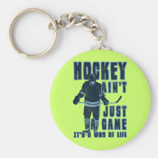 Hockey Ain't Just A Game Key Ring Keychain