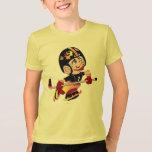 HOCKEY ALIEN CARTOON Kids' American Apparel Fine J T-Shirt
