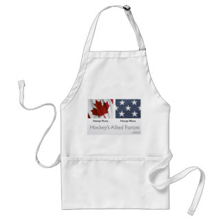 Hockey Allied Forces apron
