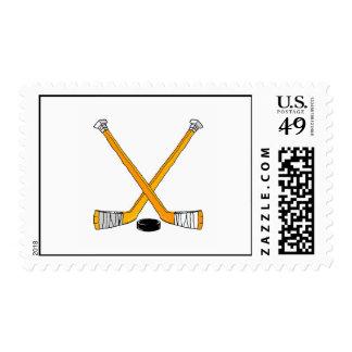 Hockey anaranjado franqueo