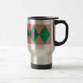 Hockey Argyle Mug