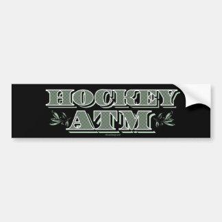 Hockey ATM Bumper Sticker