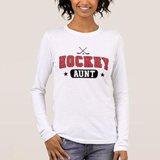 Hockey Aunt Long Sleeve T-Shirt