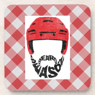 Hockey Beard Season Cork Coasters