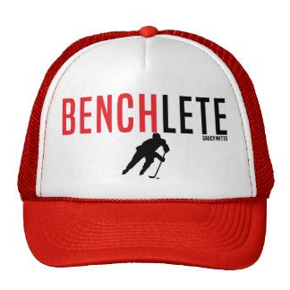 Hockey Benchlete Athlete Cap Trucker Hat
