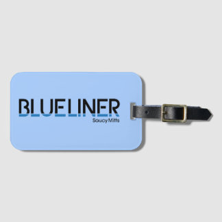 Hockey Blueliner Bag Luggage Tag