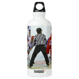 hockey botella de agua