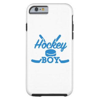 Hockey boy tough iPhone 6 case